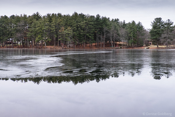 reflections on ice and water