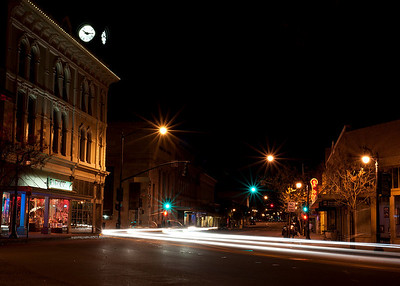 Petaluma At Night