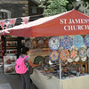 St. James Church Crafts market