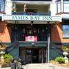 We took a taxi to the James Bay Inn