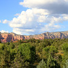 Courthouse Butte blending into the Lee Mountains