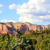 Close up of Courthouse Butte
