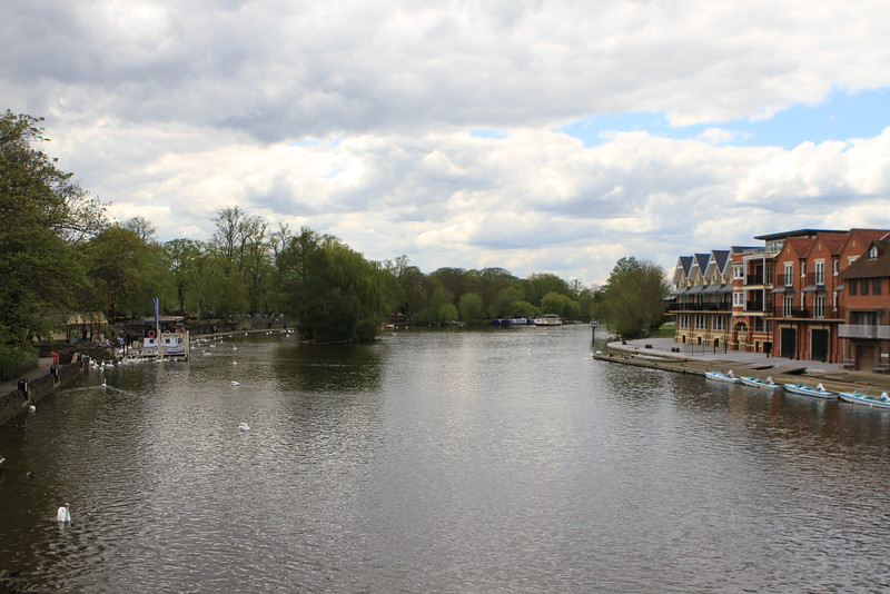You cross the Thames to get to Eton.