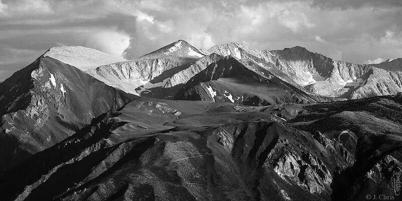 Sierra Mountains, Bald Mountain Lookout, California