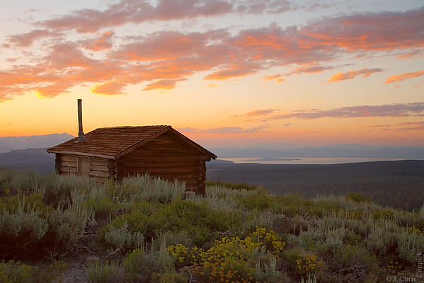 Bald Mountain Lookout, Inyo National Forest, California