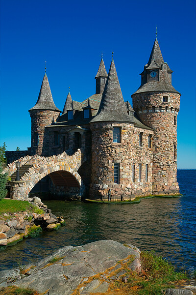The Power House, Boldt Castle, Alexandria Bay, New York