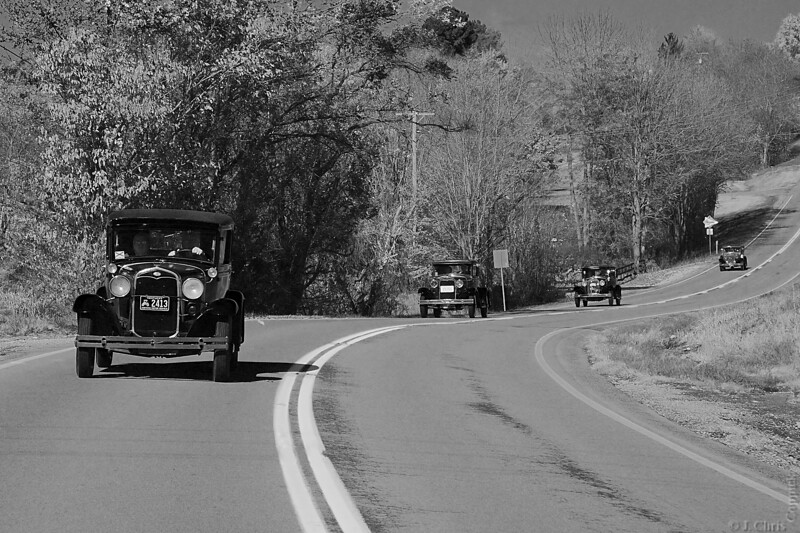 Model A Fords, Owensboro, Kentucky