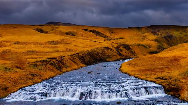 Skógá River, Iceland