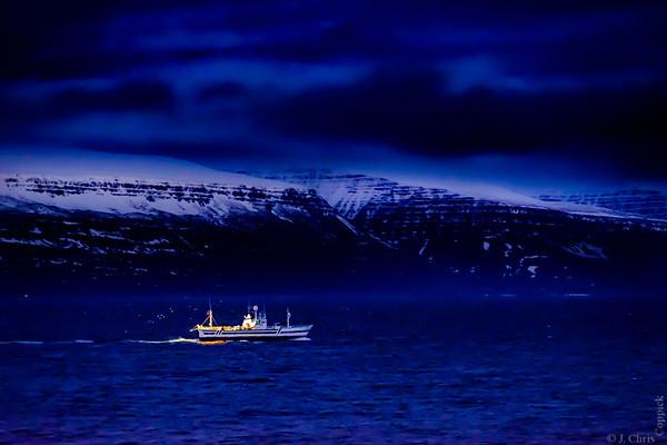 Fishing boat, Ísafjörður, Iceland