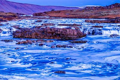 Laxa River, Iceland