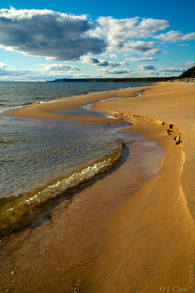 Lake Michigan, Hiawatha National Forest, Michigan