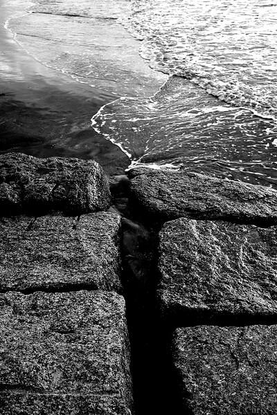 Granite Blocks, Galveston, Texas