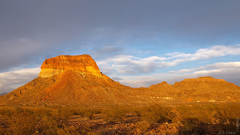 Cerro Castellan, Big Bend National Park, Texas