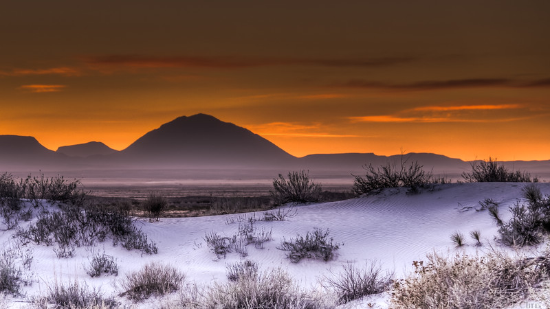 Gypsum Dunes, Guadalupe Mountain National Park, Texas