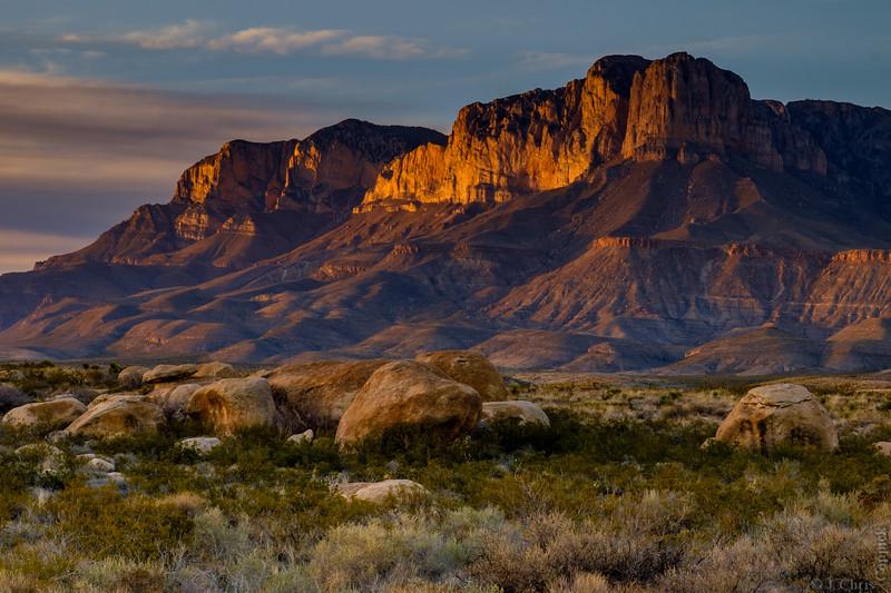 El Capitan, Guadalupe Mountain National Park, Texas