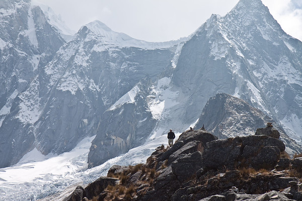 Trekking in the Peruvian Andes