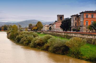 Arno River Bank