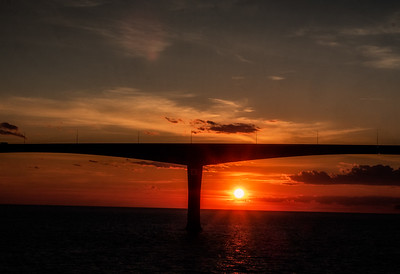 Confederation Bridge Sunset