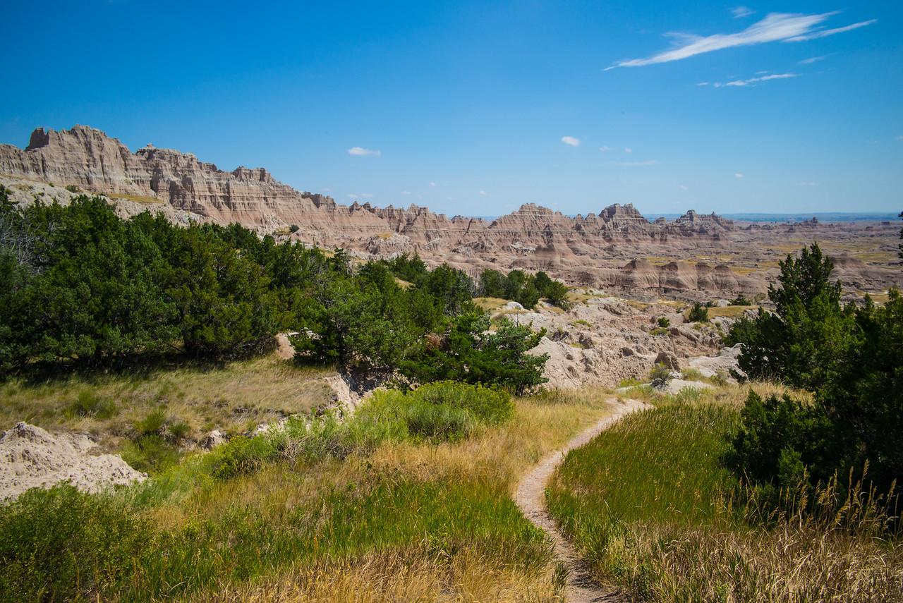 Cliff Shelf Nature Trail, Badlands