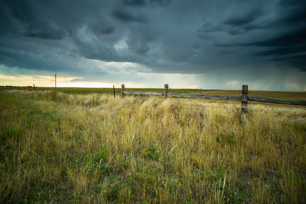 Storm Watch approaching the Badlands