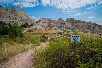 Cliff Shelf Nature Trail, Badlands