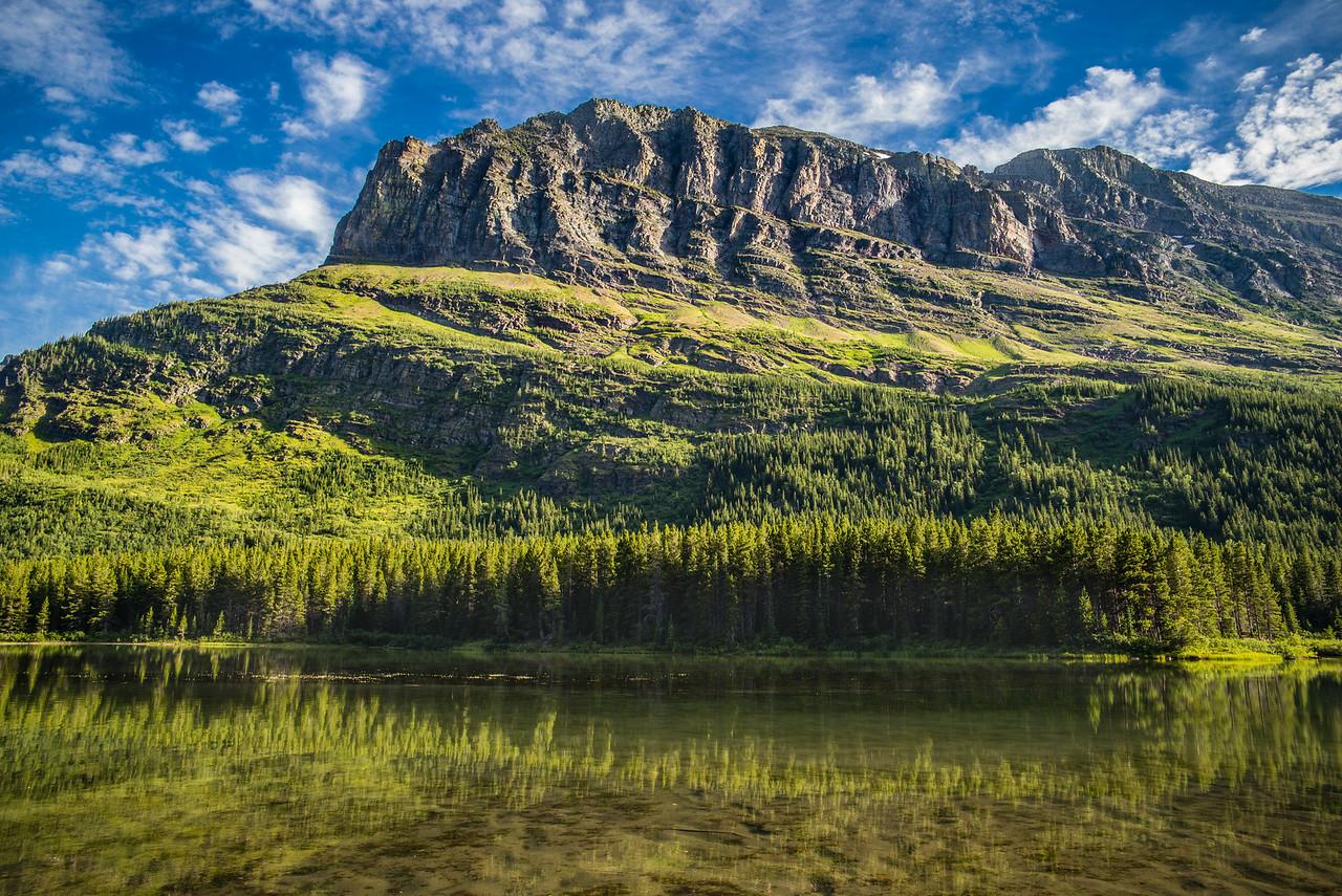 Reflections on Fishercap Lake