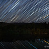 Star tracks over Smith River