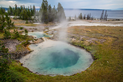 West Thumb Geiser Basin at Yellowstone Lake
