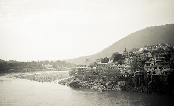 Rishikesh looking Calm