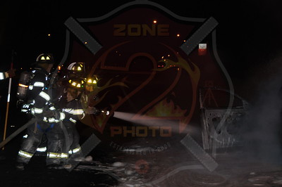 Wantagh F.D. Car Fire Eastbound S.S. Pkwy. at Exit 28 Wantagh Ave. 2/26/13