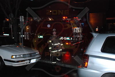 Wantagh F.D. Roof Fire El Coyote Loco Resturaunt Merrick Rd. 11/8/07