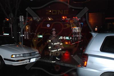 Wantagh F.D. Roof Fire El Coyote Loco Resturaunt Merrick Rd. 11/8/07