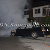 Wantagh F D  Car Fire Stratford Rd cs Wantagh Avenue 7-3-12-7