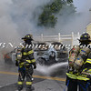 Wantagh F D  Car Fire Wantagh Ave c-s Miller Place 8-14-12-2