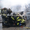Wantagh F D  Car Fire Wantagh Ave c-s Miller Place 8-14-12-10