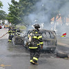 Wantagh F D  Car Fire Wantagh Ave c-s Miller Place 8-14-12-16