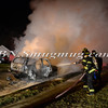 Wantagh F D Car Fire 3779 Hunt  rd 11-29-13-10