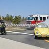 Wantagh F D  Car Fire Jones Beach E-B Bay Drive west of Field 10 4-28-13-8