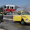 Wantagh F D  Car Fire Jones Beach E-B Bay Drive west of Field 10 4-28-13-10