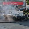 Wantagh F D  Car Fire Merrick Rd  and Beech St  7-17-13-13