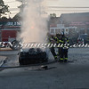 Wantagh F D  Car Fire Merrick Rd  and Beech St  7-17-13-12