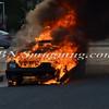 Wantagh F D  Car Fire Merrick Rd  and Beech St  7-17-13-3