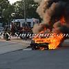 Wantagh F D  Car Fire Merrick Rd  and Beech St  7-17-13-6