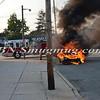 Wantagh F D  Car Fire Merrick Rd  and Beech St  7-17-13-5
