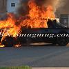 Wantagh F D  Car Fire Merrick Rd  and Beech St  7-17-13-1