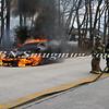 Wantagh F D  Car Fire N-B Wantagh Pkwy at Merrick Rd  3-23-13-8