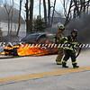 Wantagh F D  Car Fire N-B Wantagh Pkwy at Merrick Rd  3-23-13-4