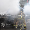 Wantagh F D  Car Fire St  Regis St  & Sycamore Ave  10-3-11-13