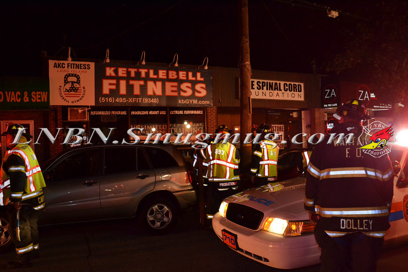 Wantagh F D  Car Into Building 3595 Merrick Road 9-5-2013-9