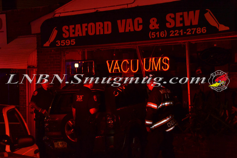 Wantagh F D  Car Into Building 3595 Merrick Road 9-5-2013-5